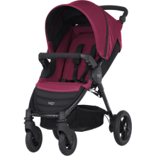 BRITAX RÖMER Kočík B-Motion 4, Wine Red
