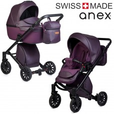 ANEX Kočík CROSS - Dark Plum