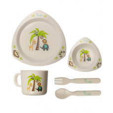 BO Jungle Dinner Tray Set Triangle